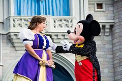 DSC_0036_WS (SureAsLiz) Tags: disney disneyworld waltdisneyworld wdw magickingdom magickingdomwelcomeshow letthemagicbegin mickeymouse mickey cinderella castle