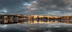 Hornstull, Icy (photomatic.se) Tags: ifttt 500px hornstull liljeholmen sweden reflections stockholm högalidskkyrkan ice winter bridge