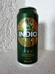 Indio (knightbefore_99) Tags: mexico mexican beer cerveza pivo hops malt amber lager tasty best favourite can green indio crisp guayabitos