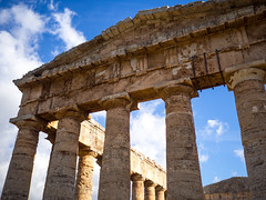 Segesta-10 (aramshelton) Tags: sicily greek greektemple ancient goldenhour