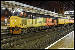 No 37421 3rd Feb 2017 Ipswich (Ian Sharman 1963) Tags: no 37421 3rd feb 2017 ipswich class 37 tractor station diesel colas engine railway rail railways train trains loco locomotive network test cambridge march 1q98 geml great eastern mainline