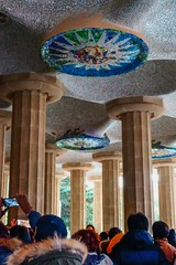 Gaudi Architecture 3 (withcamera) Tags: 스페인 바르셀로나 구엘공원 가우디건축물 spain españa barcelona guellpark gaudiarchitecture