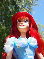 Disney OOAK Ariel (sh0pi) Tags: ariel la inch doll dress singing little action ooak live disney le 17 cinderella gown mermaid limited edition disneystore puppe arielle kleine repaint meerjungfrau singend