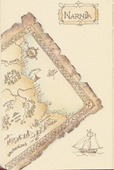 2015_05_30_map_01_s (blue_belta) Tags: moleskine map narnia coloredpencil