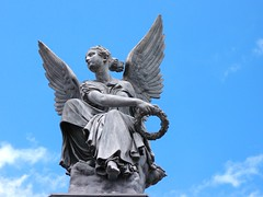 Nijmegen (mdarowska) Tags: city holland netherlands dutch statue angel nijmegen europe thenetherlands nl visitholland