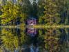 Lake Vehkajärvi (Timo Halonen) Tags: reflection water finland nokia cottage vehkajärvi kasiniemi vesi kesämökki heijastus n95 häme padasjoki carlzeisslens