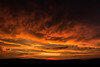 Sunset & Clouds (axelmeuwly) Tags: sunset sky orange black field clouds canon skyscape landscape eos view country apocalypse shade