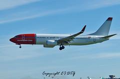 Boeing 737-8JP LN-NHD Norwegian Air Shuttle (EI-DTG) Tags: dublin boeing dub dublinairport b737 planespotting boeing737 collinstown aircraftspotting norwegianairshuttle eidw runway28 babyboeing busstopjet lnnhd