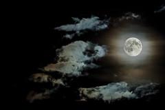 Full moon (ShimmyGraphy) Tags: sky cloud moon night photography mond cloudy nacht himmel wolke full vollmond shimmygraphy