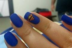 DESAFIO SUPER HEROIS - SUPERMAN (Bah Teles) Tags: azul superman hits colorclub novotoque