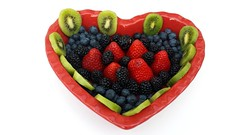 heart of fruits (DWilliam's) Tags: red summer food color green nature fruits breakfast cherry juicy healthy strawberry berry raw berries heart natural sweet eating juice tasty fresh delicious eat slice snack vegetarian tropical raspberry organic diet freshness nutrition ingredient vitamin