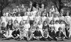 St Aidan and St Oswald's, Oldham (theirhistory) Tags: uk school girls boy england shirt children shoes dress sandals watch group tie skirt class jacket junior gb shorts form wellies primary wellingtons