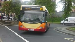 Stephensons of Easingwood Scania Omnicity (YN03 UWB) (NorthernEnglandPublicTransportHub) Tags: