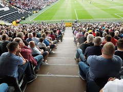 Fulham v Crystal Palace (Paul-M-Wright) Tags: uk london football sitting crystal stadium soccer cottage saturday ground august palace 01 seats friendly match fans fulham seated craven supporters versus ffc preseason 2015 cpfc