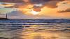Lever de soleil (Amanclos) Tags: sunset sunrise sunsettime sun sunriseandsunset sunrisesunset goldenhour yellow yellowhour portlanouvelle phare pharedeportlanouvelle lighthouse sky ciel clouds cloud nuages nuage longexposure le sea seascape waterscape water wallpaper waves