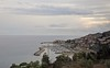 San Lorenzo al Mare (Vee living life to the full) Tags: italy france french italian riviera leger travel touring holiday nikond300 silver sea sailing boat ship sailor sunlight water shining reflection port pier harbour town road trees pylon sky cloud
