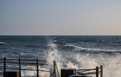 The forces of the Sea (Infomastern) Tags: smygehuk blåsigt hav sea utkiken vatten water windy östersjön