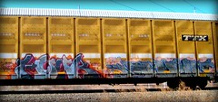 hour - salem (timetomakethepasta) Tags: hour salem freight train graffiti art autorack ttx benching selkirk ridl gier west coast sinek versuz