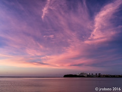 Oka Skyscape, 12/10/16 (orgazmo) Tags: guam landscapes skyscapes sky clouds cloudscapes aganabay oka tamuning twilight dusk mediumformat pentax 645z fa64535mmf35