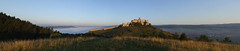 Panorama of Spiš Castle in the morning, 19.08.2008.