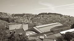 Vista Parcial de Lisboa, Portugal (Francisco Aragão) Tags: vistadelisboa lisboa portugal franciscoaragão fotografia fotografo picture canonlens1635mm canon5dmkii sepiatone ceu castelosãojorge panoramica europa sky europe velhomundo velhocontinente lisbon panoramicview