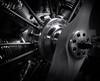 Model aero radial engine (Stephen J W) Tags: ei1600 xtol 20deg 75minutes stock developedforei3200 bw film ilforddelta3200 model aeroplane airplane radial engine motor scale evolution mamiya rz67 110mm