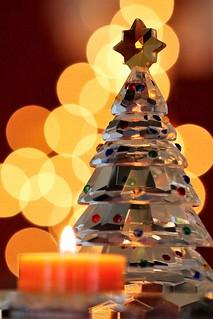 Merry Christmas - Holiday Bokeh