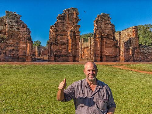 Guarani Jesuit Ruins San Ignacio Mini , Misiones , Argentina -ok- @WaltitellvUri
