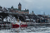 Quebec City (langdon10) Tags: canada canon70d quebec ship shoreline stlawrenceriver cold nautical winter