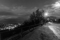 A Street In The Night (Alexis Cayot) Tags: night ef lecreusot grand 35 town mouille alexis street canon l bourgogne wet 5d creusot 28 route angle wide blanc noir nuit eos 16 loire cayot ville markii saone