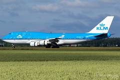 KLM Royal Dutch Airlines Boeing 747-406  |  PH-BFB  |  Amsterdam Schiphol - EHAM (Melvin Debono) Tags: klm royal dutch airlines boeing 747406 | phbfb amsterdam schiphol eham melvin debono spotting canon 7d 600d plane planes polderbaan airport airplane aviation aircraft netherlands holland