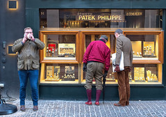 patek philippe (Christophe Rettien) Tags: copenhagen copenhague danemark stroget winter cellphone clothing colorefexpro costume detailextractor dfine elder exterior eyeglasses eyewear frontview fullbody glass glove landscape male mobilephone phone red relationship sharpnerpro sock specs spectacles streetphotography telephone threepeople umbrella viveza wood