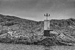 Lighthouse at Lilla Mossholen (Sailing dog) Tags: hav landskap strand lilla mossholmen