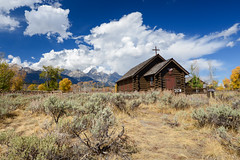 Chapel of the Transfiguration (_GuillaumeL_) Tags: grand teton chapel transfiguration