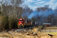 567 Requiem (Kyle Yunker) Tags: gnrr georgia northeastern gp20 emd train