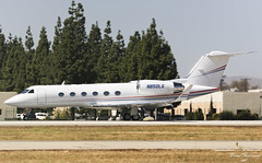 WTCT G-IV N850LG (birrlad) Tags: vannuys vny airport airfield executive california usa vip bizjet private passenger jet aircraft aviation airplane airplanes taxi taxiway takeoff departing departure runway wtct wilmington trust co trustee n850lg gulfstream aerospace giv glf4