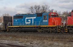 GTW 5936 Roster (Joseph Bishop) Tags: gtw 5936 sd402 emd trains train track tracks railfan railroad railway rail rails cndundassubdivision brantford roster
