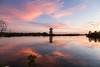 Tower Sunset (shane fishco) Tags: reflection unlimitedphotos robinsonpreserve water bradenton tower clouds cloudporn framing usa florida fl canon6d canon tampabay nature manateecounty