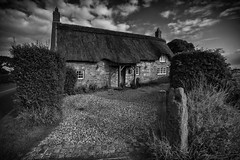 Cottage in England (mliebenberg) Tags: cottage thatchedroof lancashire countryside markliebenbergphotography