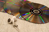 Music 16Jan17 (Helen Mulvey) Tags: music cd earphones disc depth field dof nikon d5100 365 16365