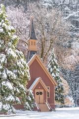 Yosemite Chapel (gannongallery) Tags: ifttt 500px john gannon california yosemite chapel winter wonderland