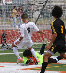 Can't do that... Gilbert  vs Tolleson - 1911 (AZDew) Tags: 20162017gilbertboyssoccer boyssoccer gilberthighschoolstatechampions gilberttigers gilbertvstolleson highschool soccer statechampionship