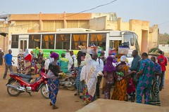 "The day I crossed the border from Benin to Niger with the 3S.T.V bus.  Welcome to Niger  Jan 2017 #itravelanddance • <a style=""font-size:0.8em;"" href=""http://www.flickr.com/photos/147943715@N05/32555036555/"" target=""_blank"">View on Flickr</a>"