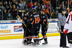 "Missouri Mavericks vs. Cincinnati Cyclones, January 25, 2017, Silverstein Eye Centers Arena, Independence, Missouri.  Photo: John Howe / Howe Creative Photography • <a style=""font-size:0.8em;"" href=""http://www.flickr.com/photos/134016632@N02/32558227245/"" target=""_blank"">View on Flickr</a>"