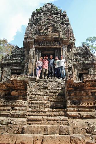 Angkor Wat team