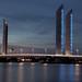 Bordeaux - Pont Chaban Delmas sur la Garonne - Photo Image Photography