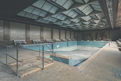 The Pool 1/3 (klickertrigger) Tags: abandoned pool architecture swimming decay indoor urbanexploration dust ue verlassen urbex staub verfall lostplace stefandietze