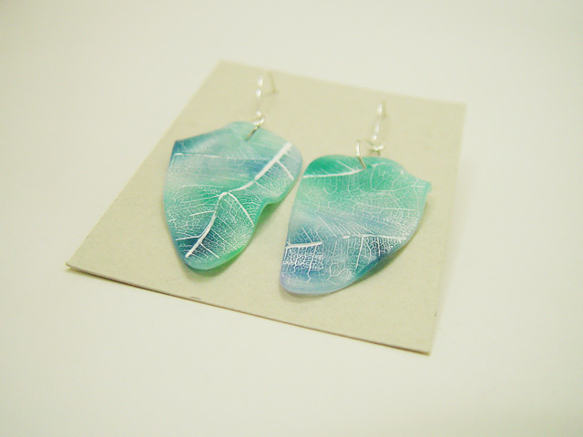 8e2b0d43b Fairy garden earrings (Art Studio Katherine) Tags: flowers colors colorful  oneofakind colores polymerclay