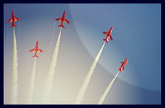 Bring Back and Oldie - 21 June 2015 - Canon EOS 60D & PicMonkey - The Red Arrows! (TempusVolat) Tags: art digital plane canon airplane eos contrail arty graphic mr aircraft jets flight jet style aeroplane planes dslr contrails canoneos gareth redarrows westonsupermare tempus redarrow stylised wsm morodo 60d volat garethw eos60d mrmorodo garethwonfor tempusvolat picmonkey