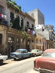 Havana, Cuba (jericl cat) Tags: auto street building cars architecture facade downtown havana cuba ruin scrap streetscape crumbling 2015